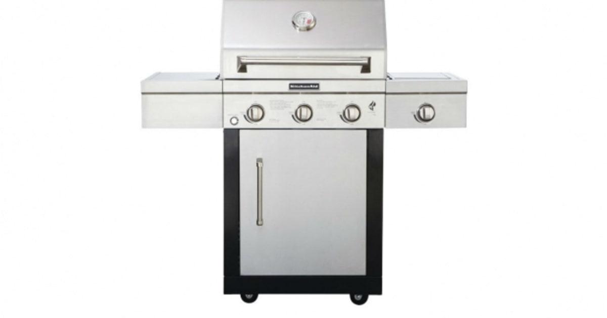 kitchenaid 4 burner gas grill bing images. Black Bedroom Furniture Sets. Home Design Ideas