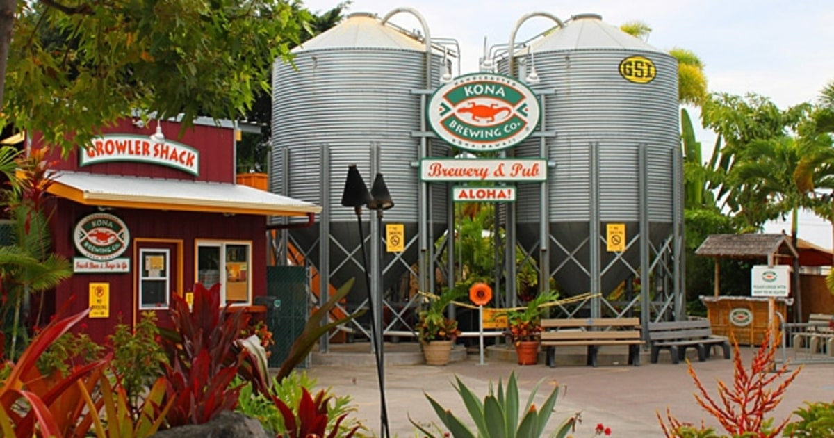 Kona Brewing Company America S Best Brewery Tours Men