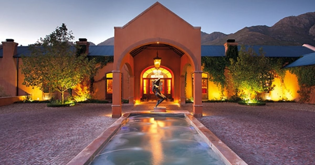 La Residence Franschhoek South Africa The 10 Most