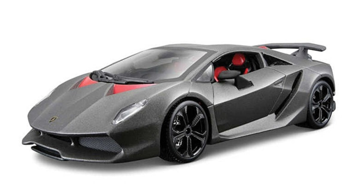 maisto 1 24 lamborghini sesto elemento the coolest new. Black Bedroom Furniture Sets. Home Design Ideas