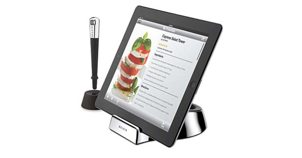 Kitchen ready your ipad 10 ways to upgrade your kitchen for Ipad kitchen scale