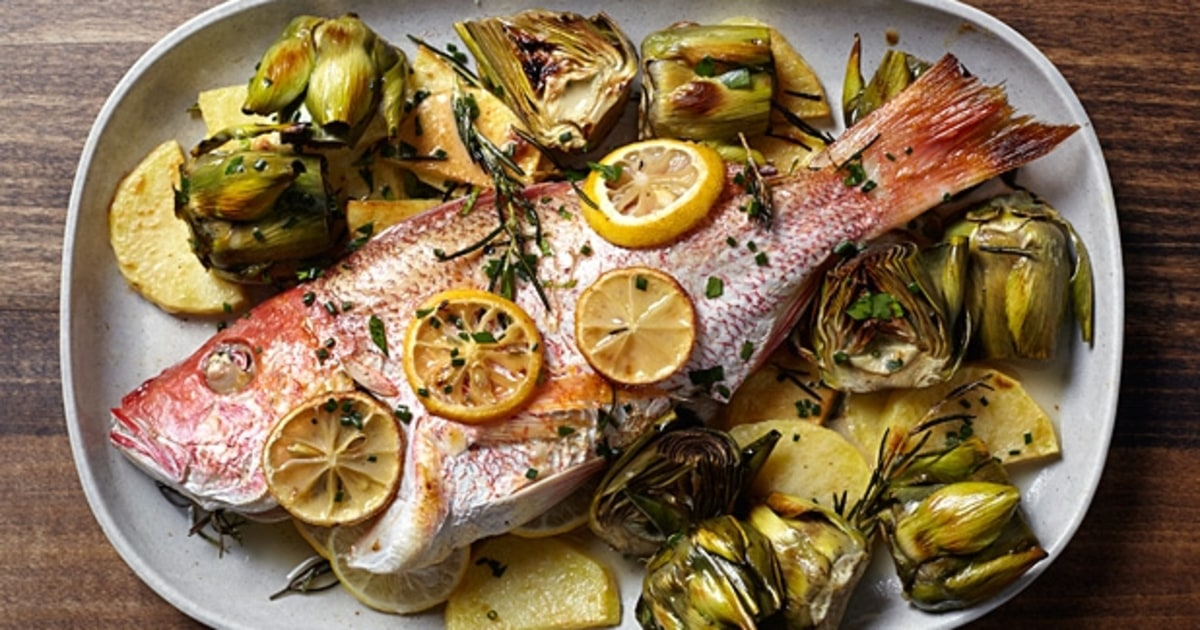 Marc vetri 39 s roasted whole snapper vetri and amis for Seven fishes recipe