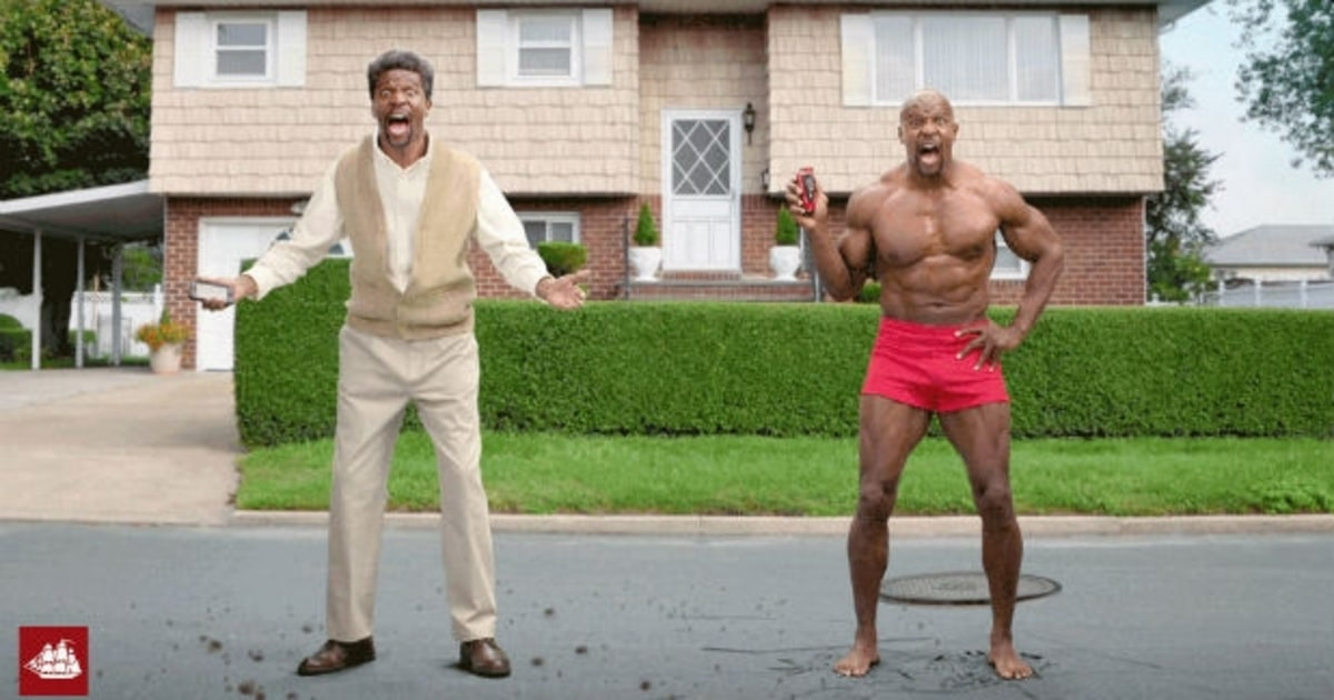 terry crews takes on beards in new old spice ad men 39 s journal. Black Bedroom Furniture Sets. Home Design Ideas