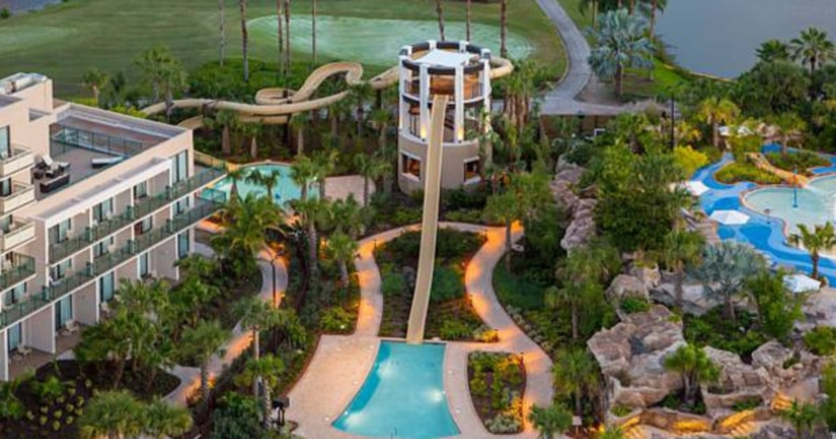 Orlando world center marriott the 10 best hotel pools in for Best hotel in america