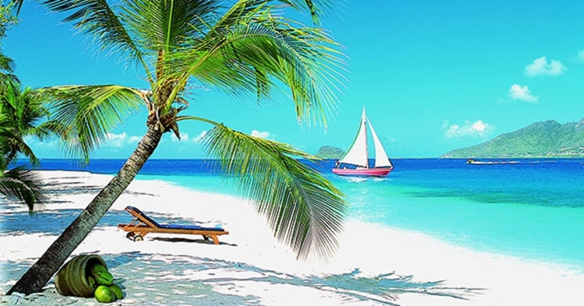 Palm island resort the best all inclusive resorts men for Best all inclusive destinations