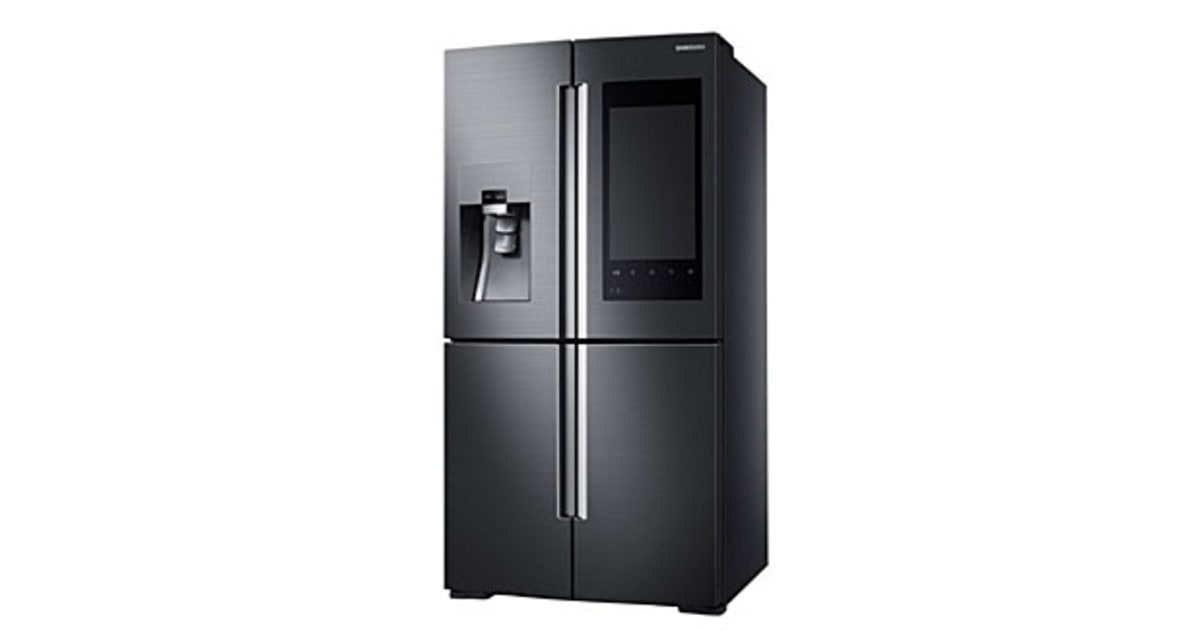 Samsung 4 Door Flex Refrigerator With Family Hub Smart