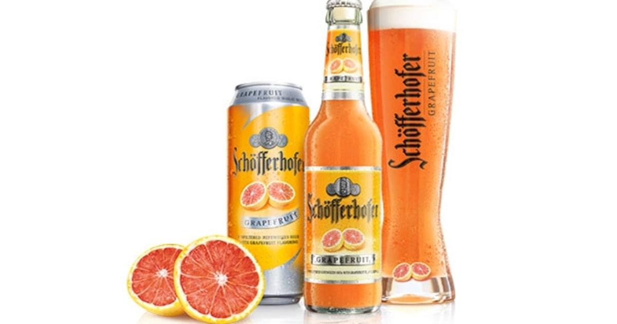 Schfferhofer Grapefruit Hefeweizen The 10 Best Shandy