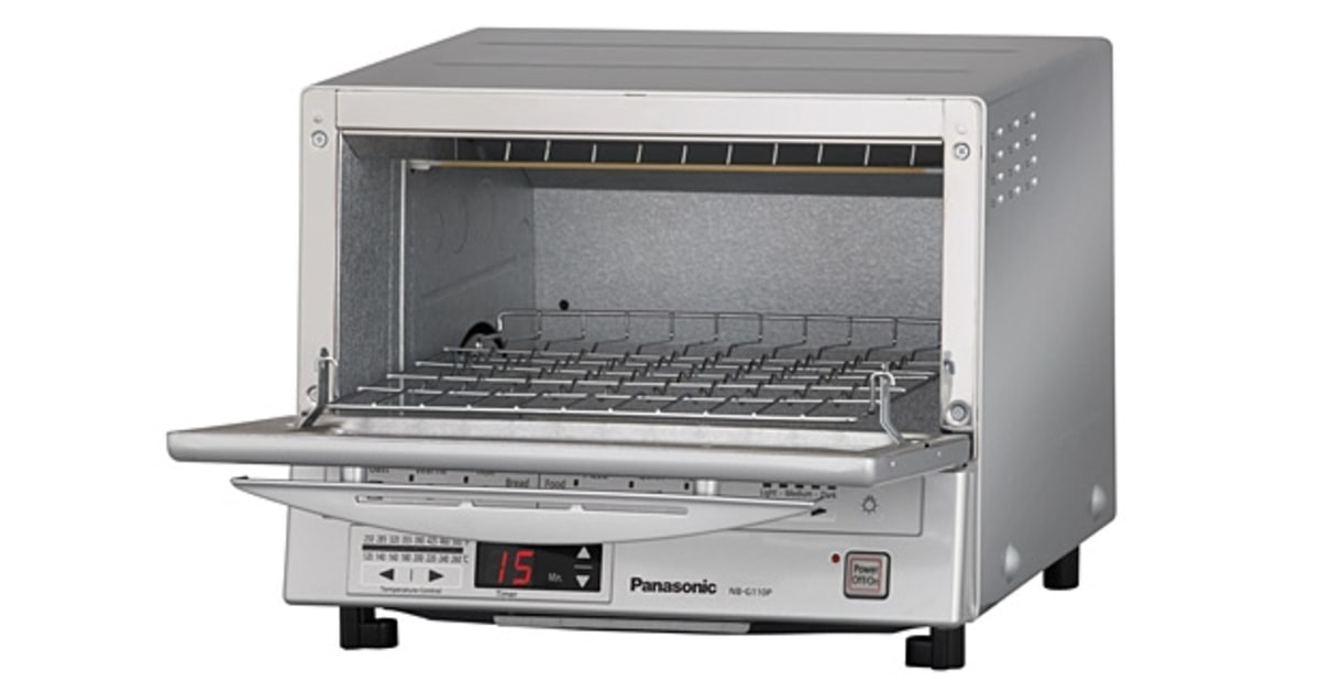Panasonic Flashxpress Toaster Oven With Double Infrared