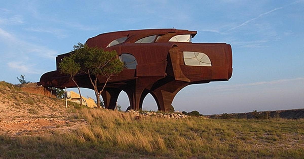 Steel House Lubbock TX 10 Weirdest Historical Mansions