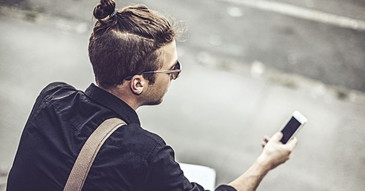 man buns dont be this guy mens journal