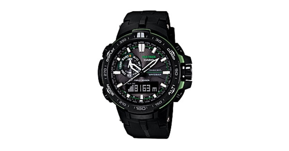 Casio protrek prw 6000y 1a review the adventure watch you can wear every day men 39 s journal for Adventure watches