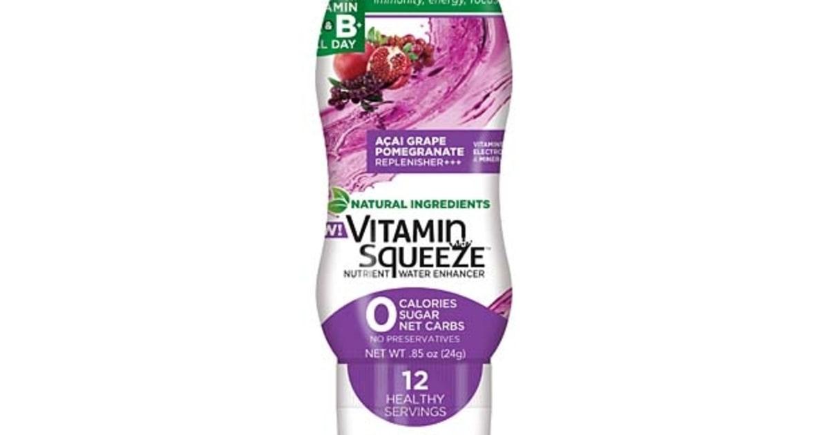 Vitamin Squeeze A 231 Ai Grape Pomegranate Flavor Best All