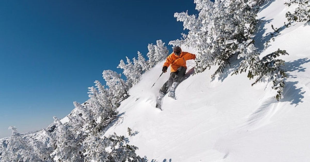 The Best Backcountry Skiing In The East Men S Journal