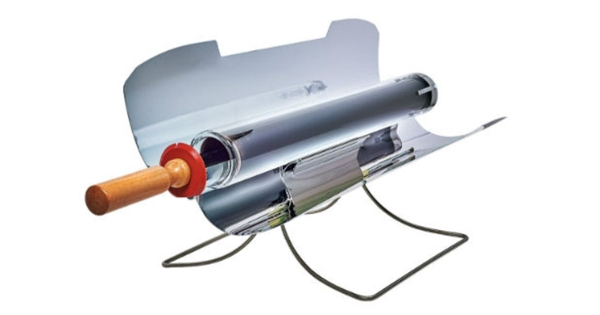 The fuel free grill the 50 best tools tech and toys for Gosun stove
