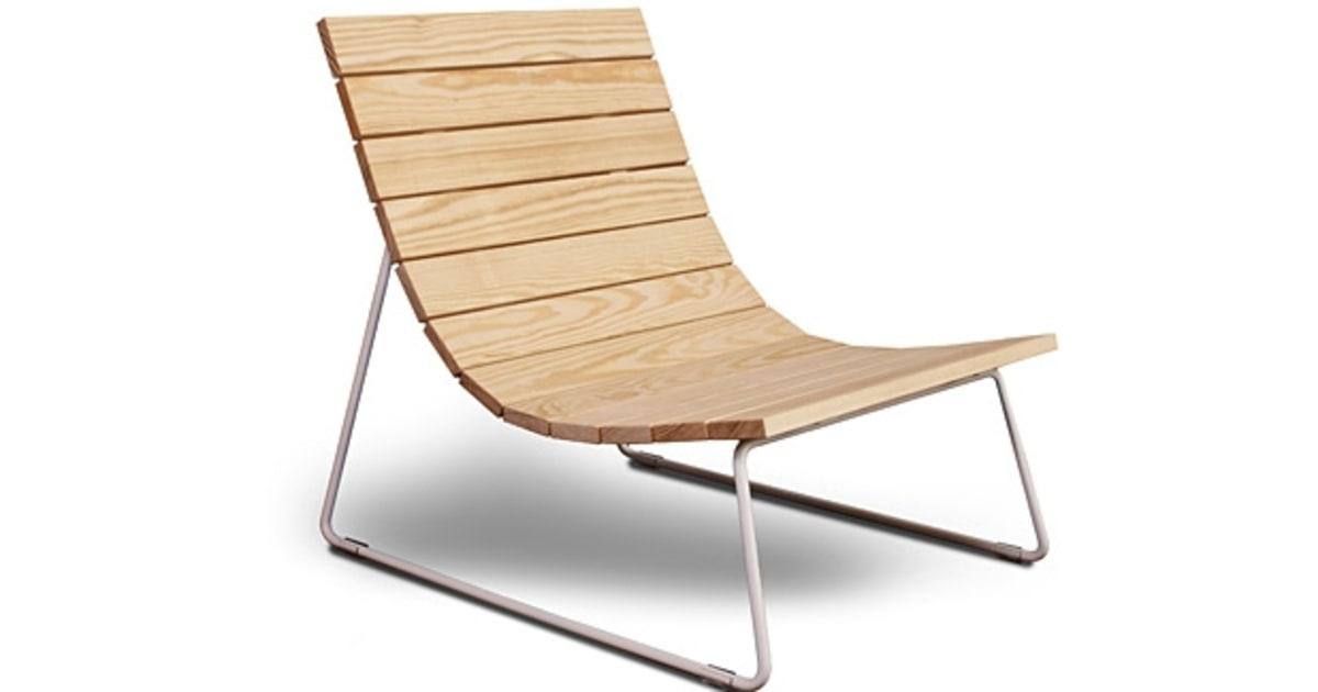 Council Design Plank Lounger