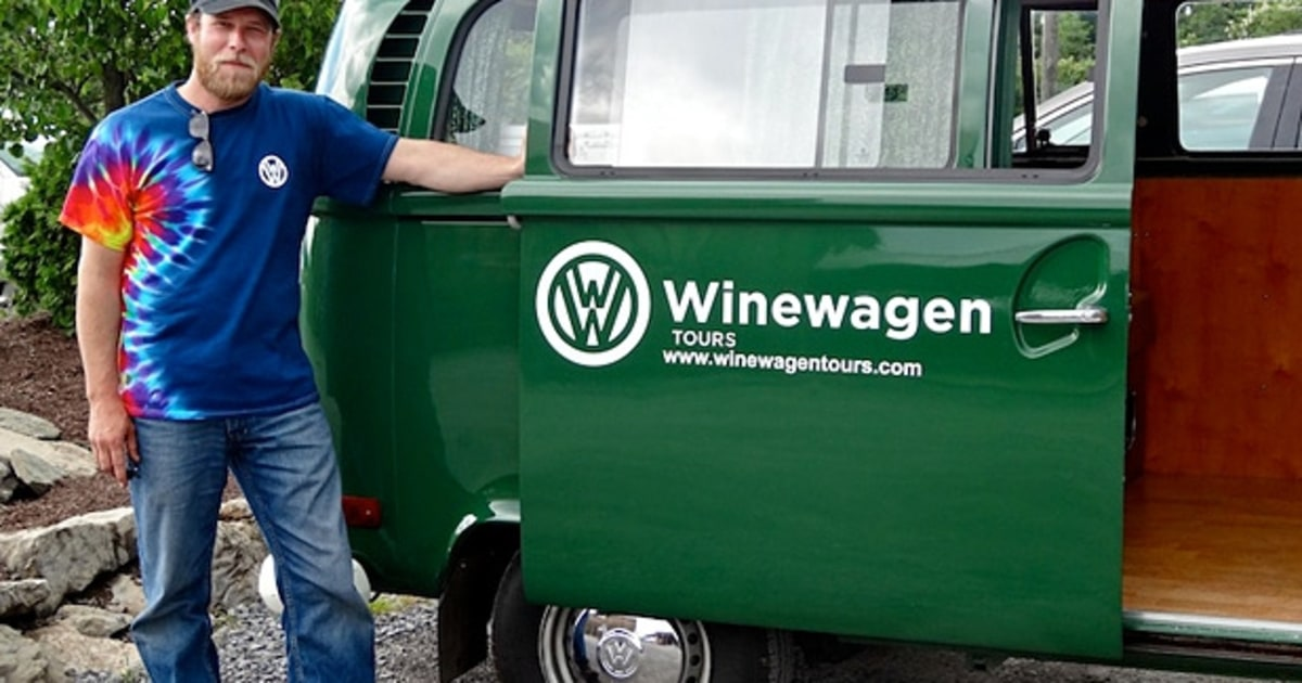 Winewagen Finger Lakes Winery Tours In A Vw Bus Men S