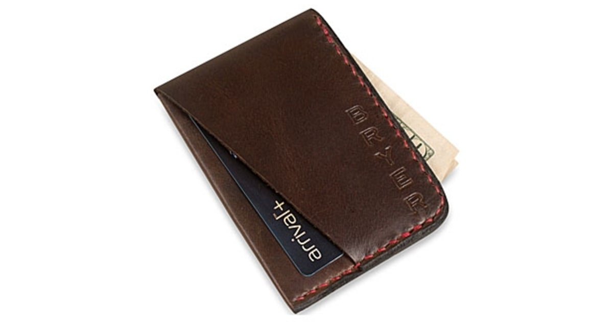 Affordable metal credit card holder