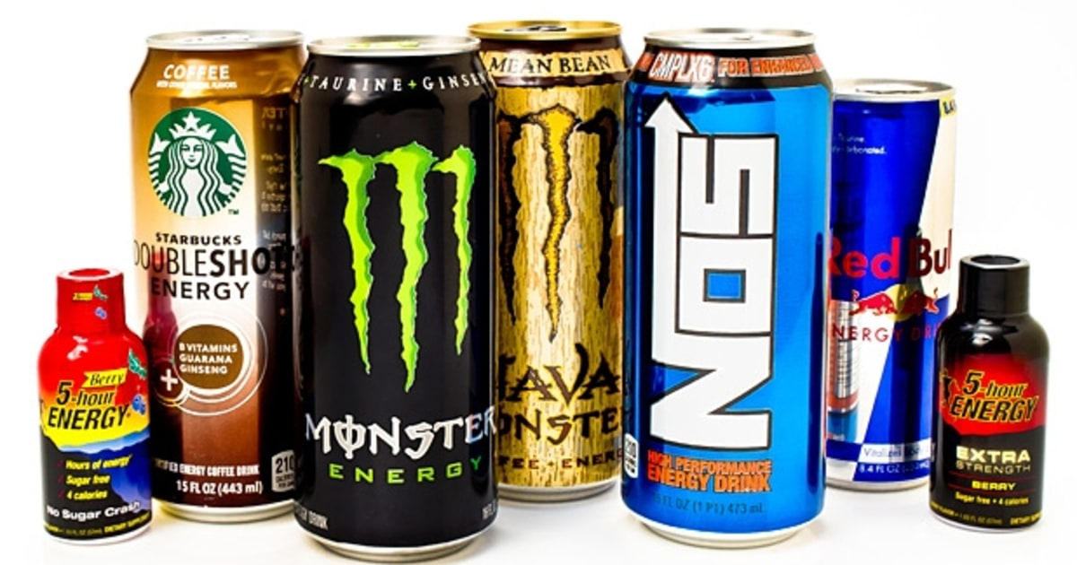 List Of Energy Drinks With Most Caffeine