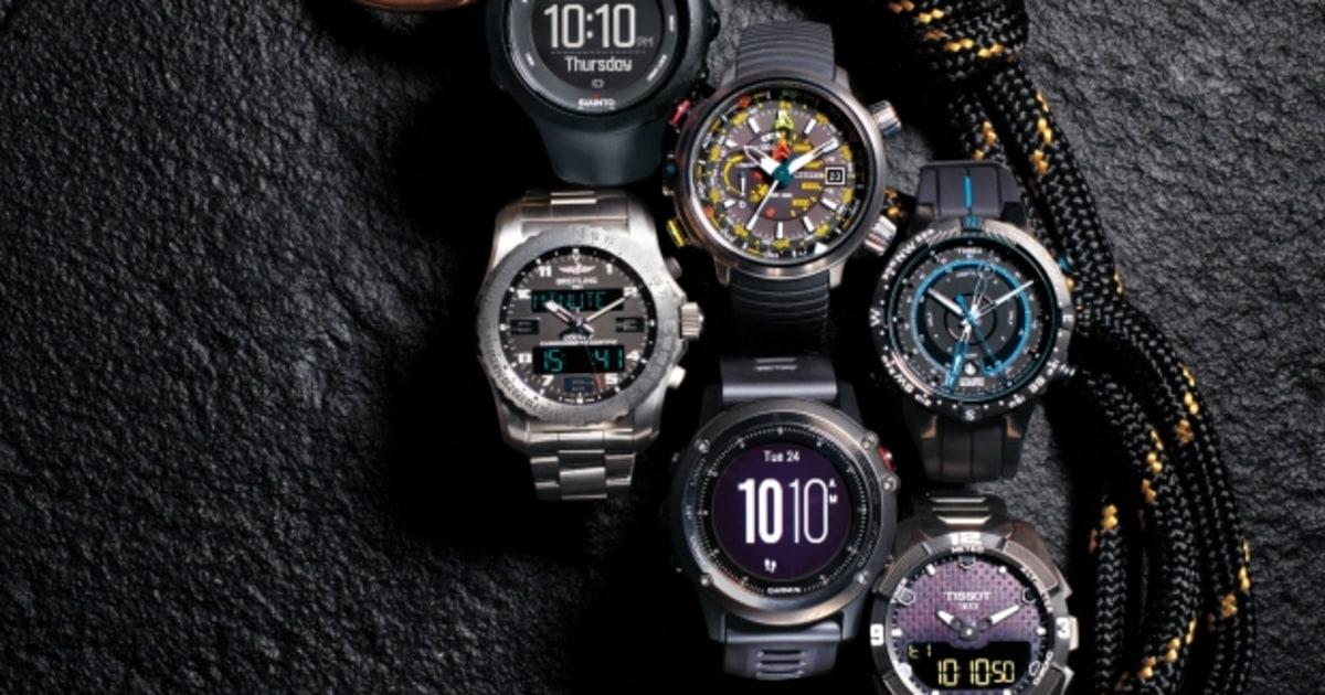 The Most Rugged Outdoor Watches | Menu0027s Journal
