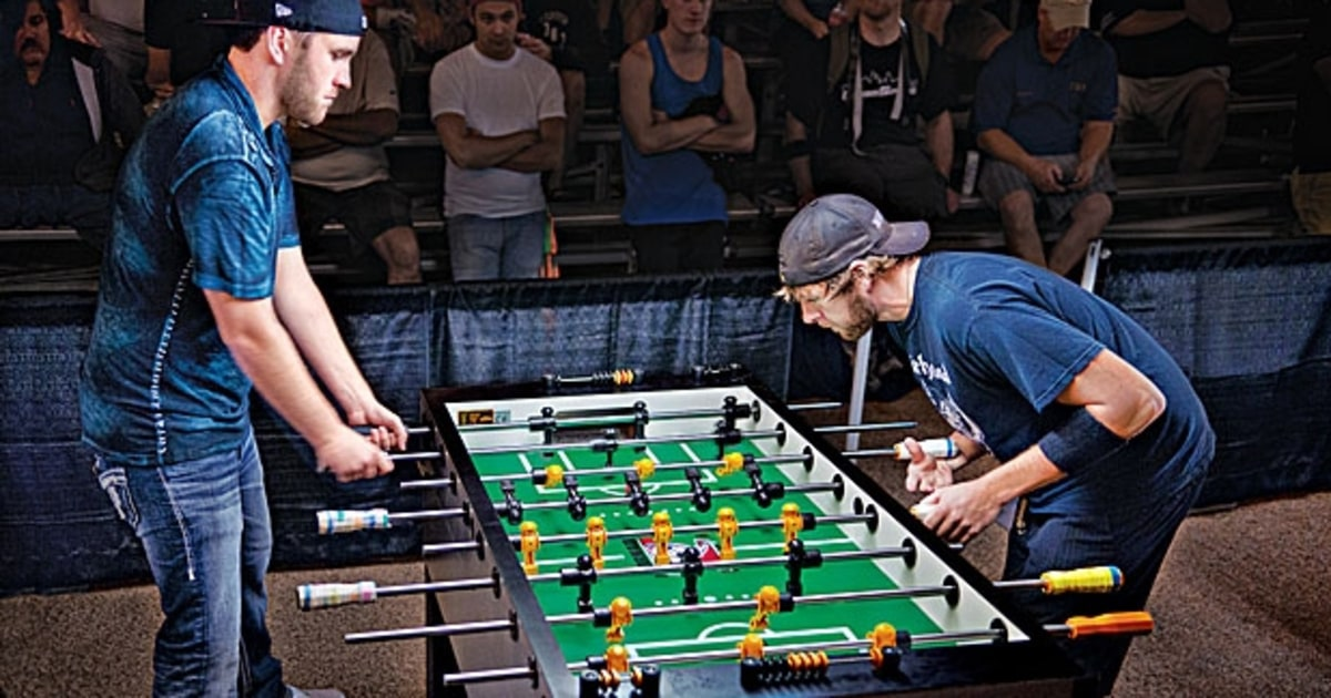 Best Foosball Tables The Party Boy King of Foosball - Men's Journal