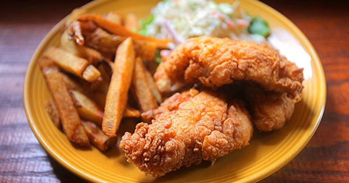 How to make pub worthy fish and chips at home men 39 s journal for Food for fish at home