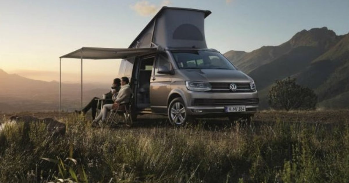 Volkswagen S New California Camper Van Is An Adventurer S