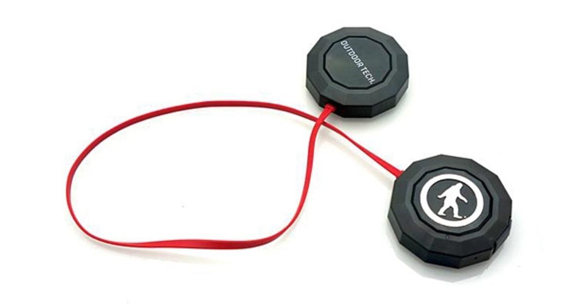 outdoor tech chips bluetooth wireless helmet audio review. Black Bedroom Furniture Sets. Home Design Ideas