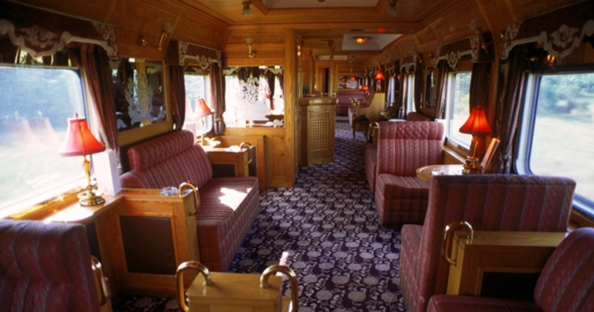 Private Train Cars The 16 Best Places To See Fall