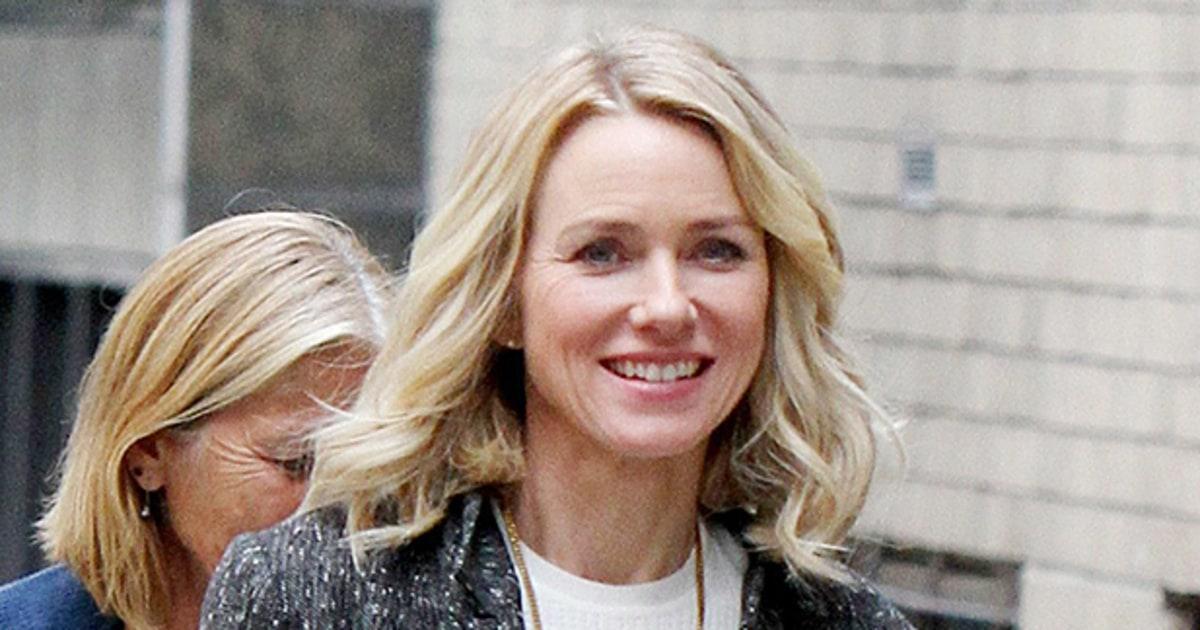 Naomi Watts All Smiles...