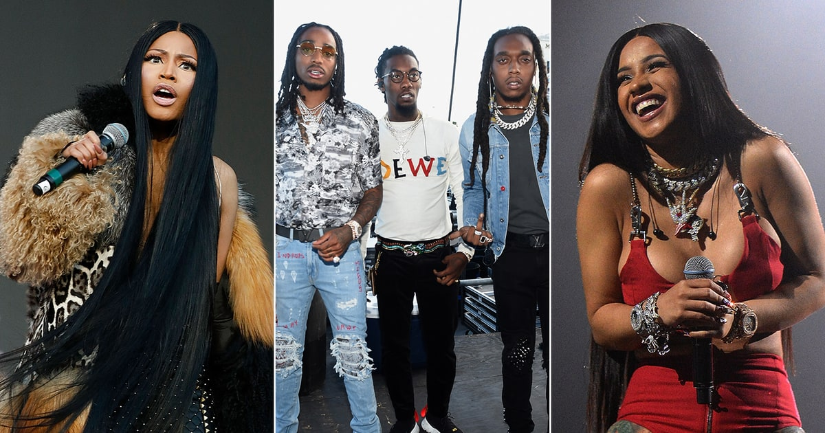Migos, Nicki Minaj, Cardi B on Gritty New Song 'MotorSport ...