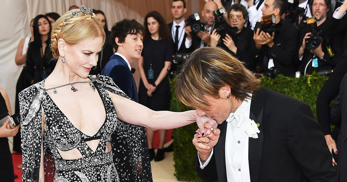 Nicole Kidman And Keith Urban Cutest Couples At The Met