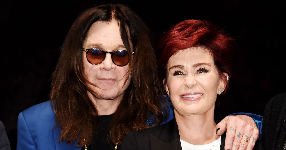 Ozzy Osbourne: Marriage With Sharon Is 'Back on Track' - Us Weekly