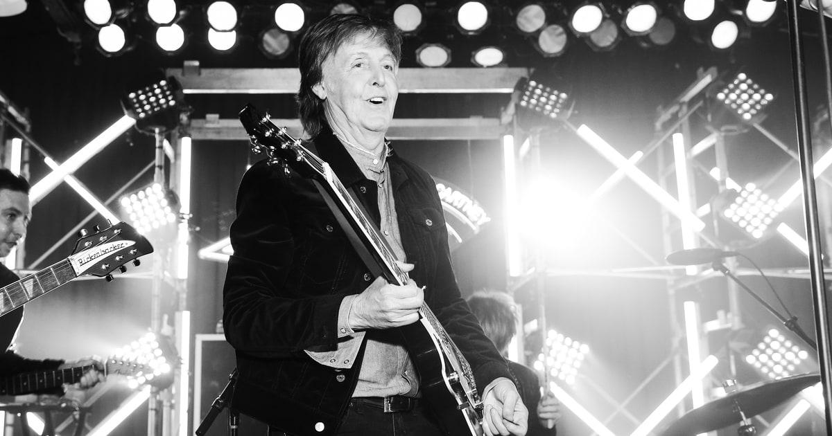 Paul McCartney Explores 'Dream Location' for New LP ...