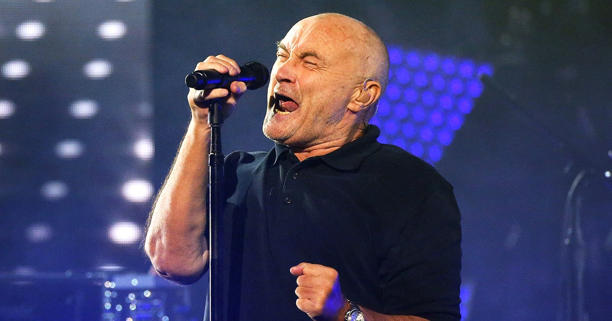 Phil Collins Postpones Two Shows After Severe Gash On
