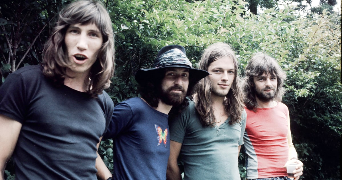 Pink floyd exhibition unearths lost footage laser show for Pink floyd exhibition