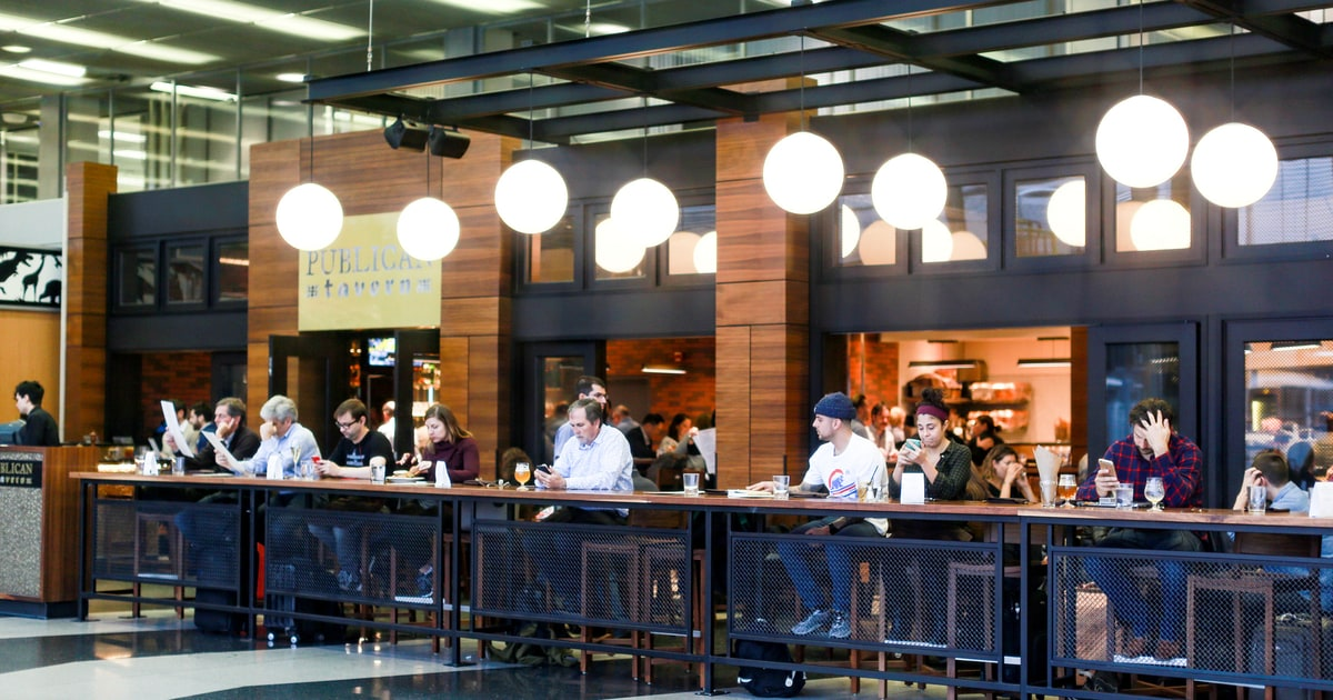 11 Truly Great Airport Restaurants