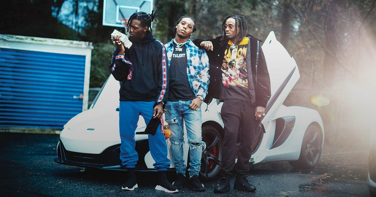 'Bad And Boujee': Inside Atlanta Rap Trio Migos' Wild