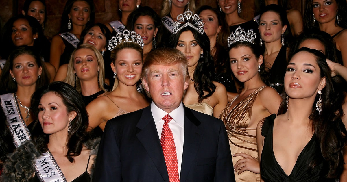 Timeline Of Trump S Creepiness While He Owned Miss