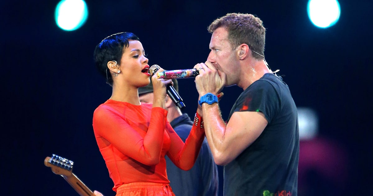 Chris Martin Rihanna S Voice Is Like Toothpaste Frank