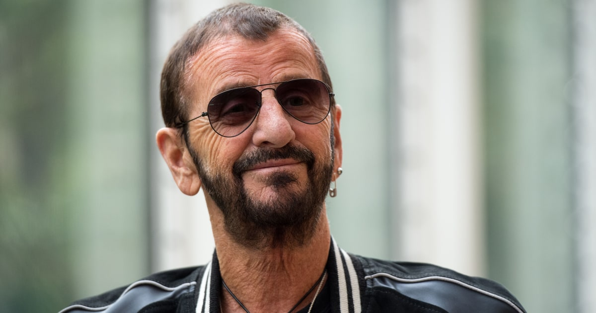 review ringo starr 39 s 39 give more love 39 rolling stone. Black Bedroom Furniture Sets. Home Design Ideas