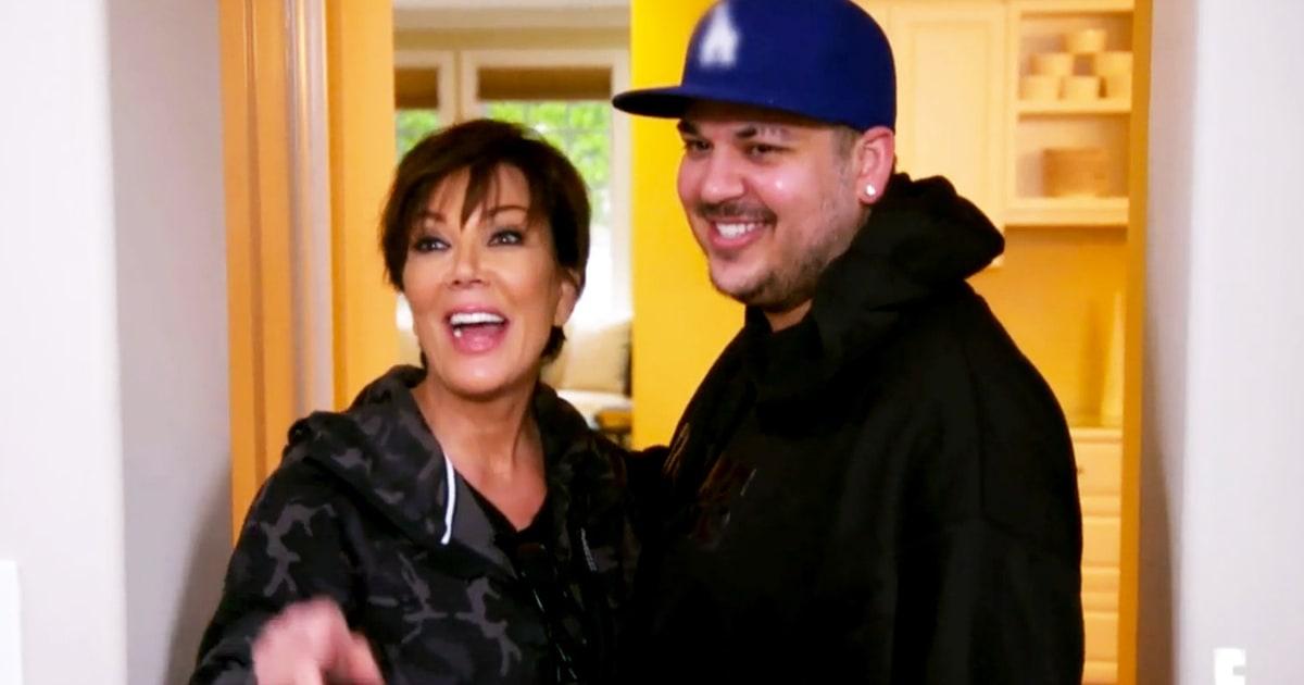 Rob Kardashian Makes His 'Keeping Up With the Kardashians' Return - Us Weekly