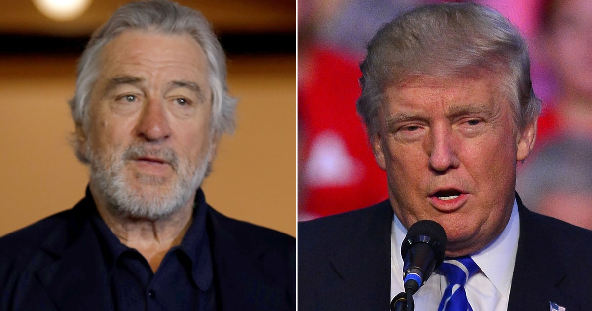 Robert De Niro Compares Donald Trump to 'Taxi Driver' Character: 'He Is Totally Nuts'