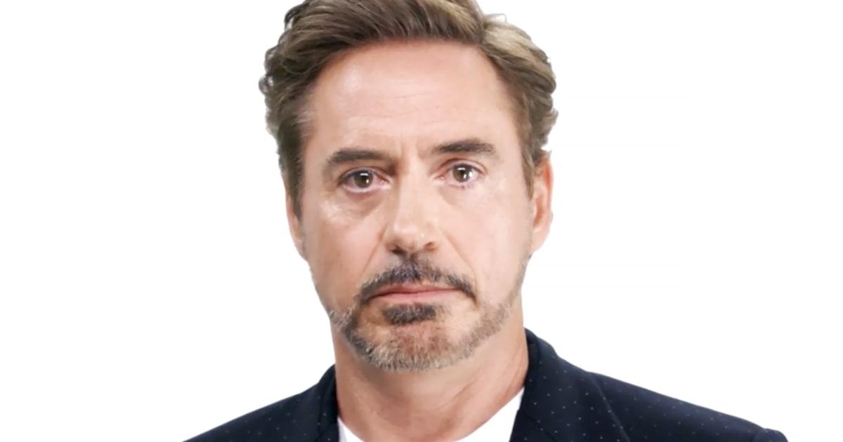 Robert Downey Jr., Scarlett Johansson, More Team Up for Voting PSA ... Robert Downey