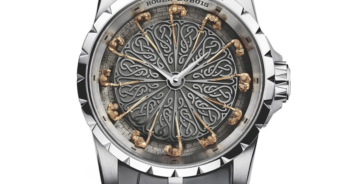 6 roger dubuis excalibur knights of the round table ii - Roger dubuis knights of the round table watch ...