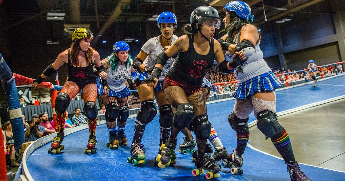 Austin Txrd Meet The Women Of Texas Toughest League