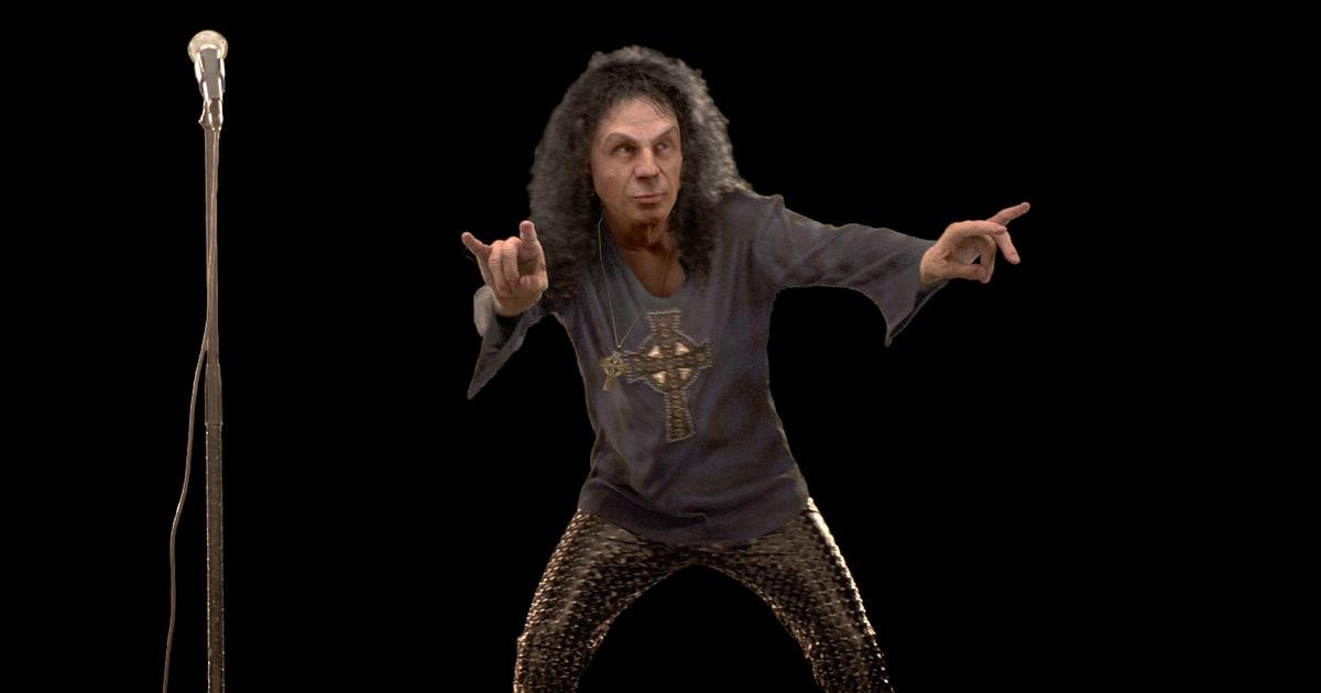 Resultado de imagen de Ronnie James Dio hologram