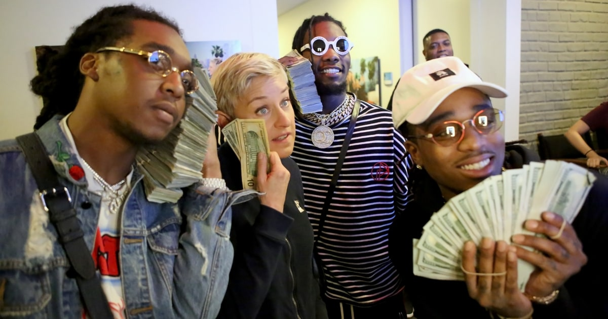 Watch Migos Surreal Bad And Boujee Performance On