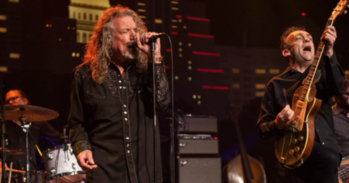 Hear Robert Plant's Moody Elbow Cover for Benefit Compilation news