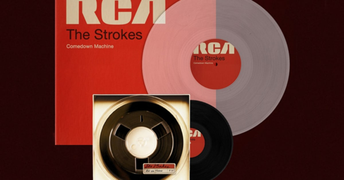 Win The Strokes Comedown Machine On Vinyl Rolling Stone