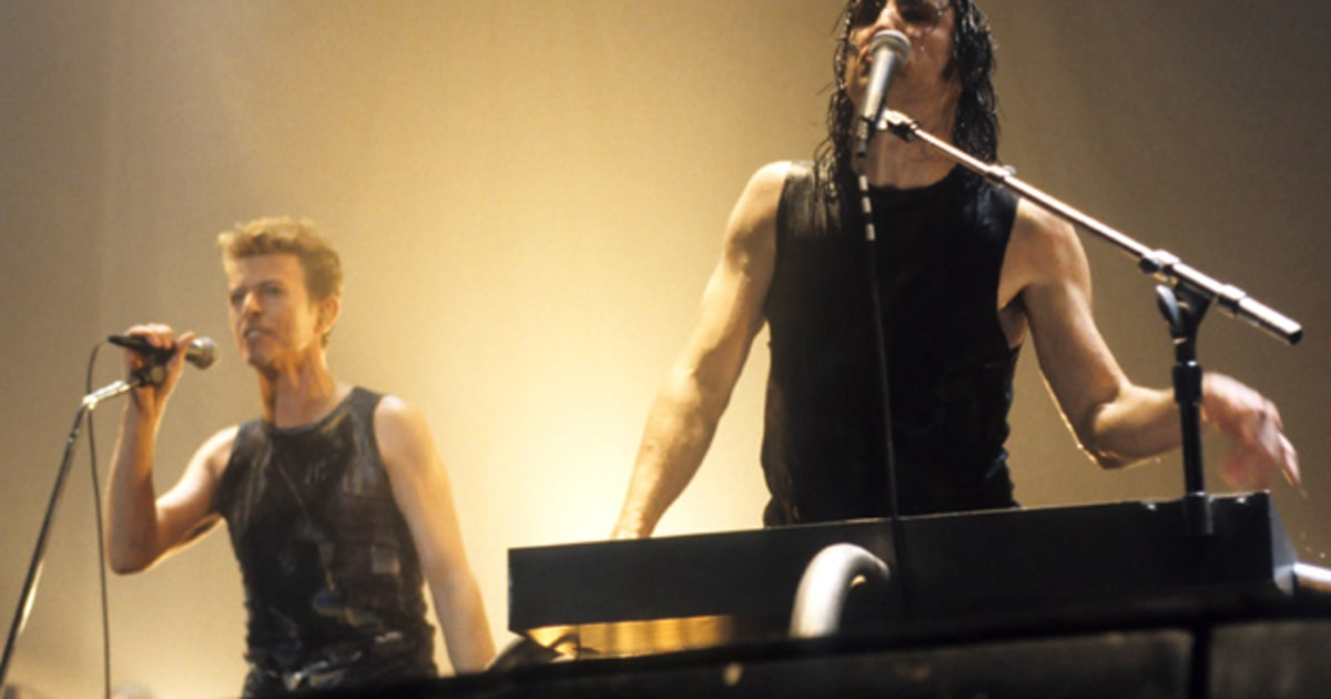Live review: Nine Inch Nails and David Bowie Team Up in Jersey ...